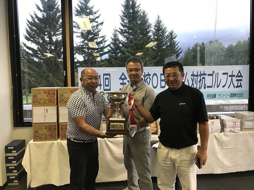 ■8/22UP 第4回全道高校OBチーム対抗ゴルフ大会が真駒内CCで開催されました。