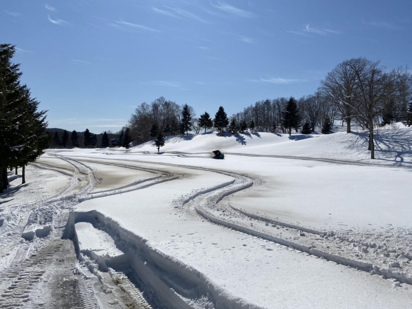 2月26日(水)除雪・融雪作業進行中!